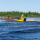 River and lake boat LR9