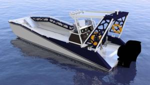 Watermate Boat LR9 Cargo