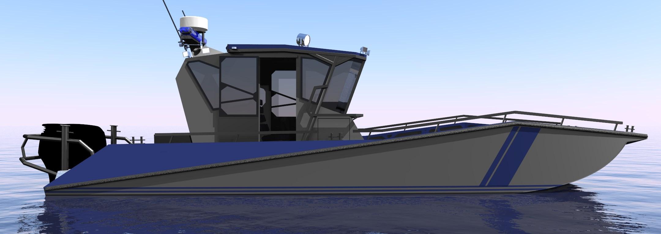 Border guard boat