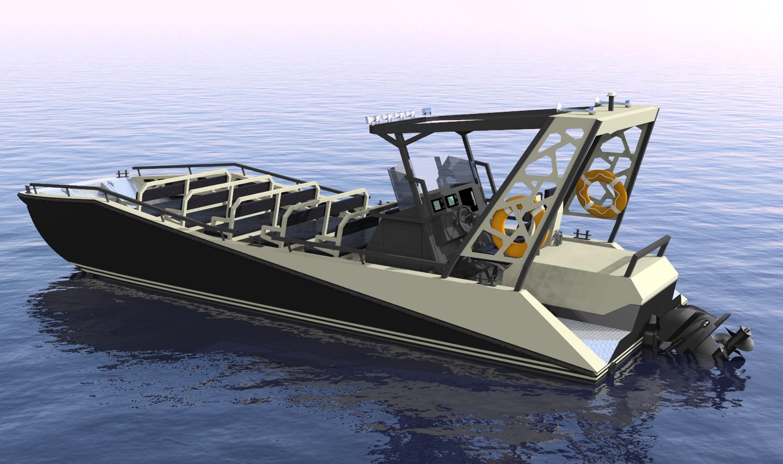River safari boat